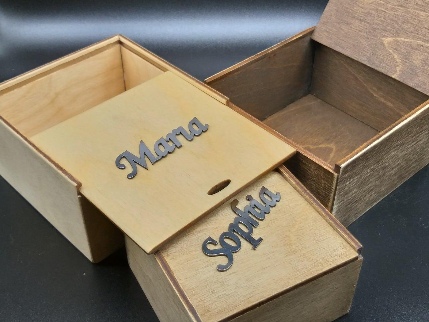 Коробочки из фанеры