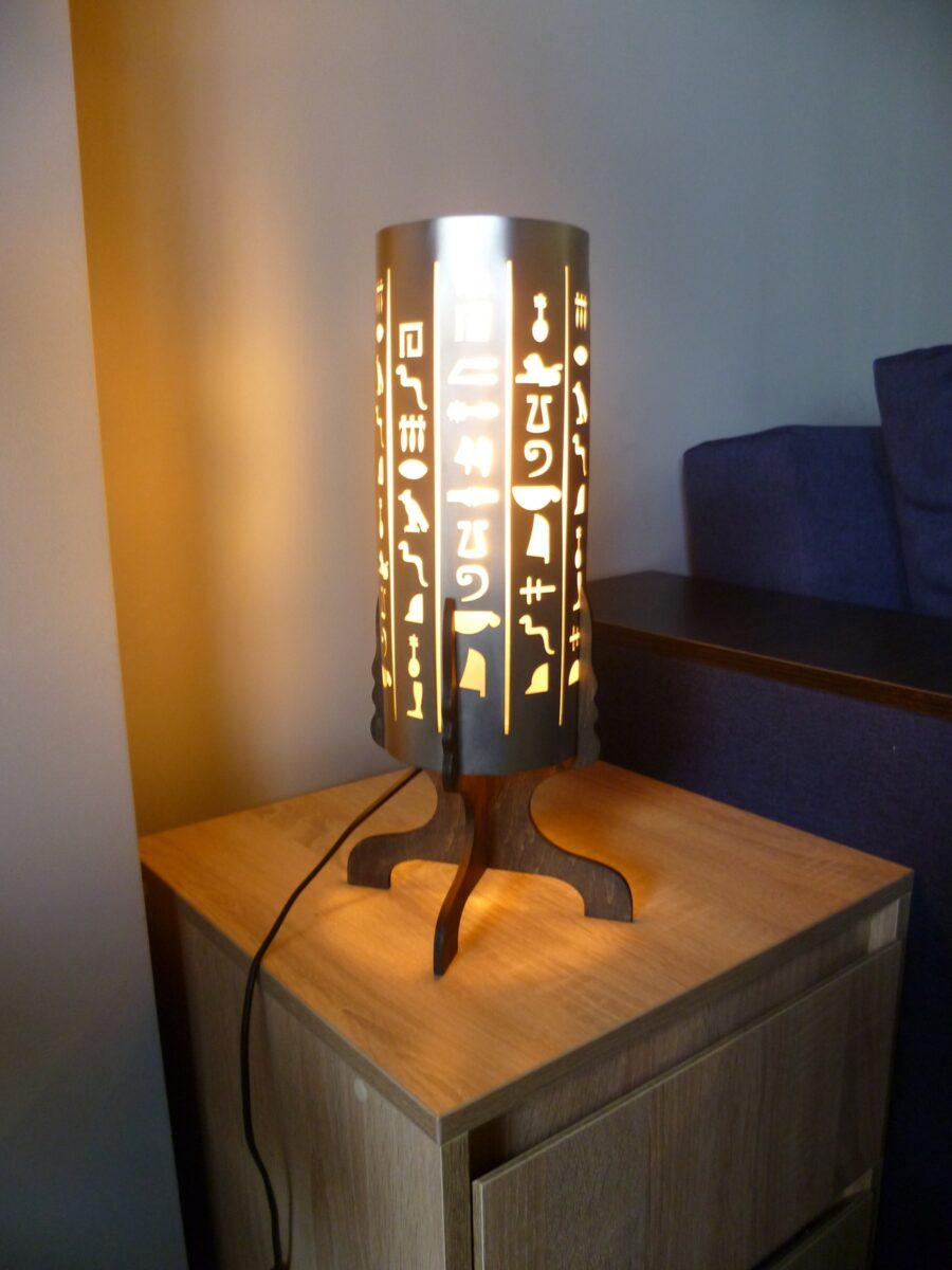 Лампа настольная брендированная